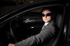 Mafia-Fahrer Lizenzfreie Stockbilder