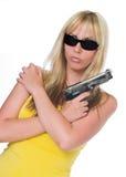 Mafia-Frauen Stockfotografie