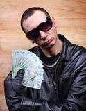 Mafia gangster Stock Image