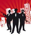 Mafia-Gruppe Stockfotos
