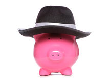 Mafia piggy bank Royalty Free Stock Photo