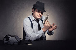 Mafia ready Royalty Free Stock Images