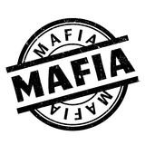 Mafia rubber stamp Stock Images