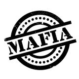 Mafia rubber stamp. Grunge design with dust scratches. Effects can be easily removed for a clean, crisp look. Color is easily changed Stock Images