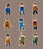 Mafia stickers Stock Photo