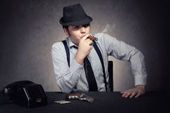 Mafia young Royalty Free Stock Images