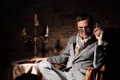 Mafioso. royalty free stock photos