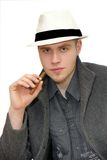 Mafioso man Royalty Free Stock Photography