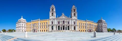 Mafra全国宫殿、女修道院和大教堂在葡萄牙 图库摄影