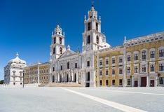 Mafra全国宫殿,葡萄牙 免版税库存照片