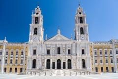 Mafra全国宫殿,葡萄牙 库存照片