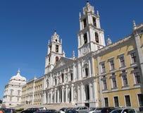 mafra宫殿葡萄牙 免版税库存照片