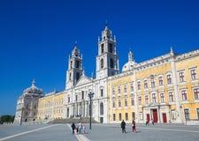 mafra宫殿葡萄牙 免版税图库摄影