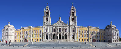 Mafra Krajowy pałac, klasztor i bazylika, Zdjęcia Stock
