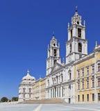 Mafra Nationaal Paleis. Barok meesterwerk Stock Foto