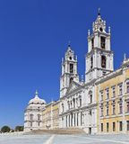 Mafra National Palace. Baroque masterpiece Stock Photo