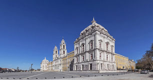 Mafra National Palace, Convent and Basilica in Portugal. Francis. Can Religious Order. Baroque architecture Stock Image