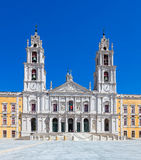 Mafra National Palace, Convent and Basilica in Portugal Stock Photo