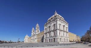 Mafra nationell slott, kloster och basilika i Portugal. Francis Fotografering för Bildbyråer
