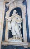 Mafra Palace - Statue of Saint John of Matha Royalty Free Stock Photo