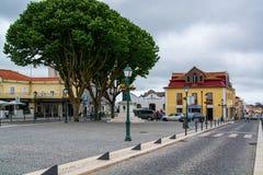 Mafra wioska w Portugalia Zdjęcia Stock