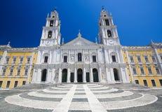 mafraslott portugal Arkivbilder