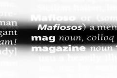 mag fotografia stock