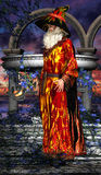 Mag com vara mágica 03 Imagem de Stock Royalty Free