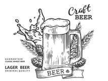 MAG dei comp. della birra Immagine Stock