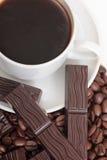 Mag des Kaffees und der Schokolade Stockfoto