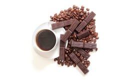 Mag und Schokolade Stockfotografie
