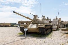 Magach 3 - le réservoir de Patton M48A3 se trouve sur le chantier commémoratif près du musée blindé de corps dans Latrun, Israël images libres de droits