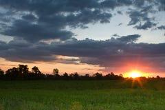 Magalies sunset Stock Photo