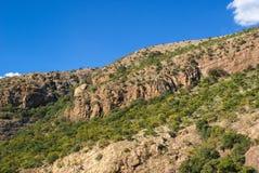 Magaliesberg Mountains. Magaliesbreg mountains close to Hartbeespoort dam in South Africa Stock Images