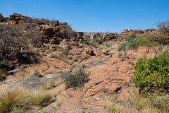 Magaliesberg ojämnt oåtkomligt landskap, Sydafrika Royaltyfri Foto