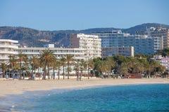 Magalluf Beach Calvia Mallorca Stock Photography