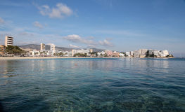 Magaluf from sea Stock Image