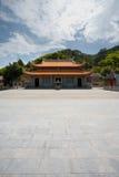 Magang Matsu Temple Courtyard Stock Image