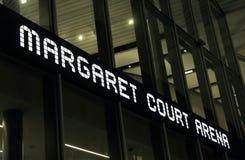 Magaret sądu Arene tenis Obrazy Royalty Free