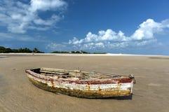 Magaruque ö - Mocambique Royaltyfria Bilder