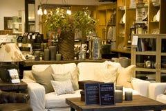Magasin à la maison de décor de meubles Photographie stock libre de droits