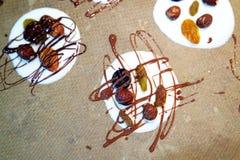 Magasin av hemlagade choklader Royaltyfri Foto