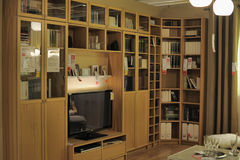 Magasin d'amélioration de l'habitat d'Ikea image stock