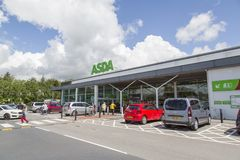 Magasin d'Asda Photographie stock libre de droits