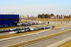 Magasin d'IKEA Vilnius Ikea est maintenant le plus grand détaillant de meubles Image libre de droits