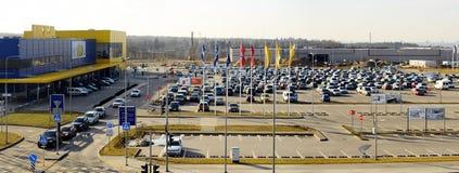 Magasin d'IKEA Vilnius Ikea est maintenant le plus grand détaillant de meubles Images libres de droits