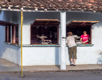 Magasin dans Vinales Cuba Photos stock
