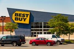 Magasin de Best buy Photos libres de droits