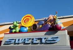 Magasin de bonbons Photo stock