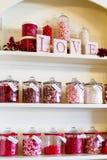 Magasin de bonbons Photos stock